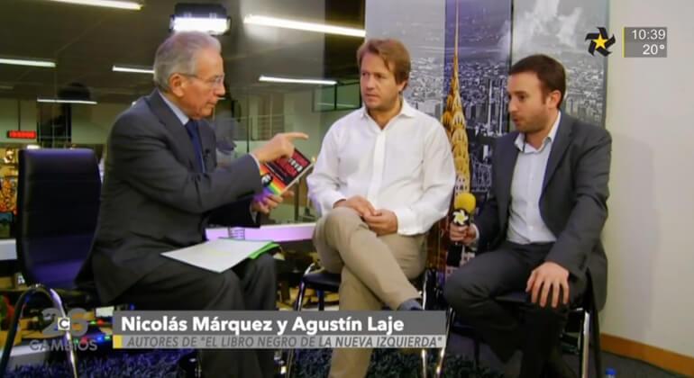 Agustín Laje y Nicolás Márquez en entrevista con Héctor Benavides
