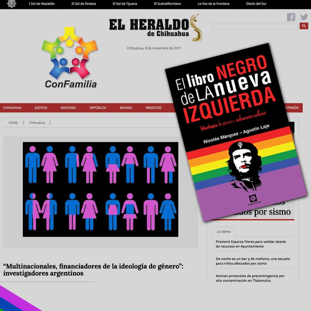 """2a presentación de """"El Libro Negro de la Nueva Izquierda"""" en Guadalajara"""