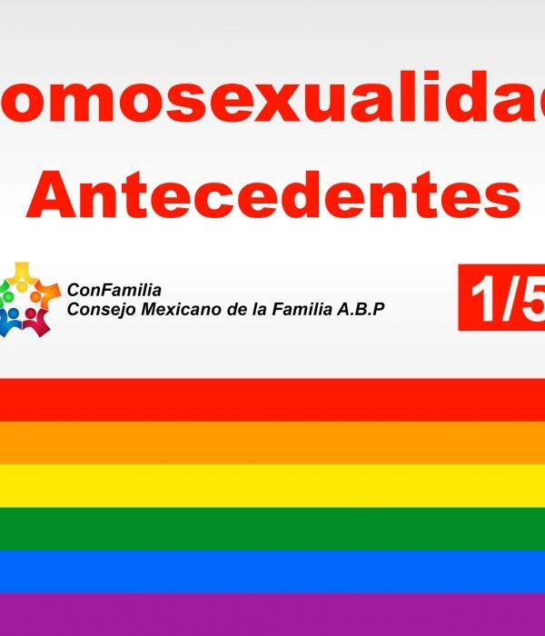 Algunas reflexiones sobre la condición homosexual.