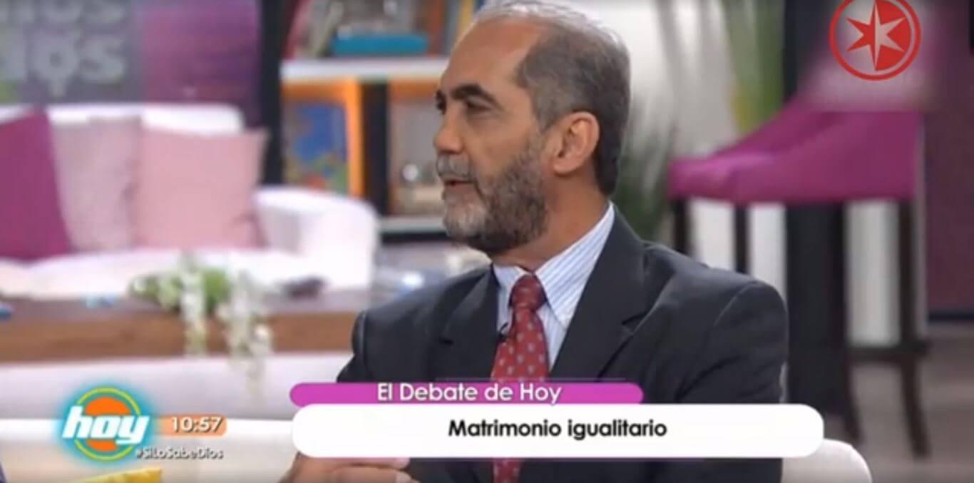 """Programa HOY-Televisa y ConFamilia sobre """"Matrimonios Igualitarios"""""""