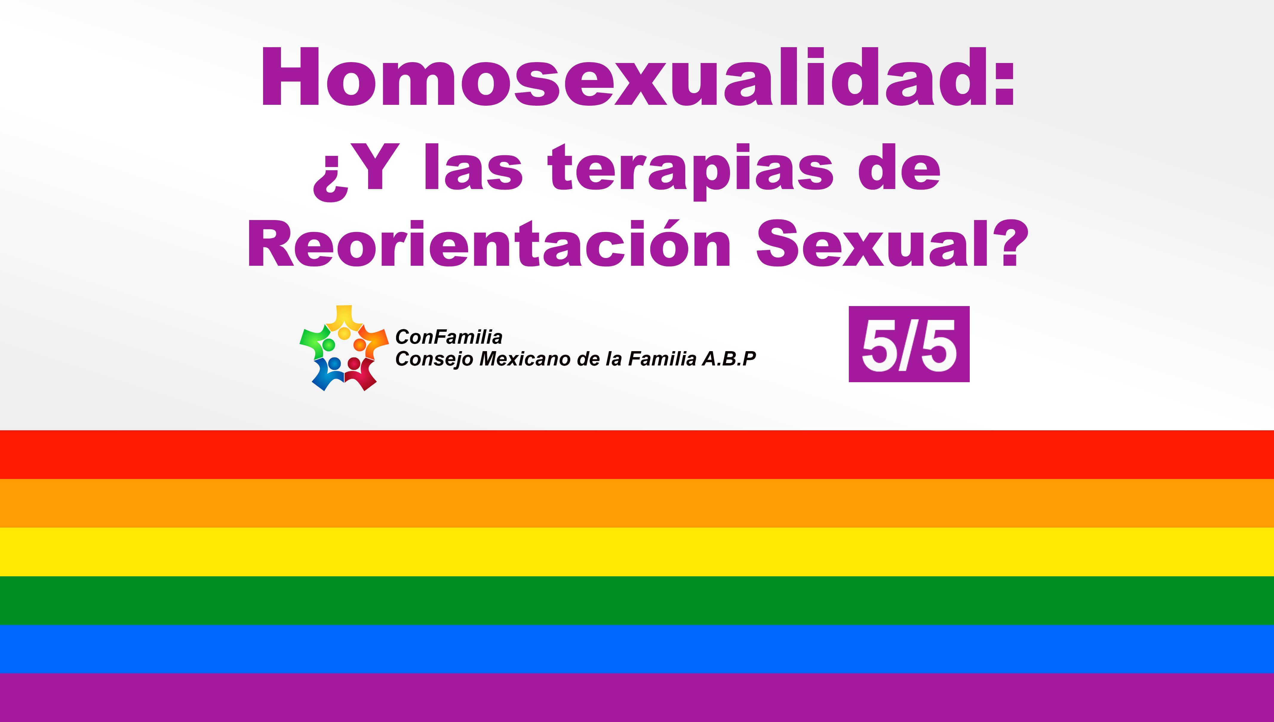 Las terapias de reorientación sexual son una realidad y deberían estar al alcance de todos!!