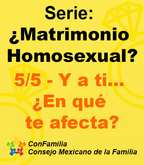 ¿Matrimonio Homosexual?