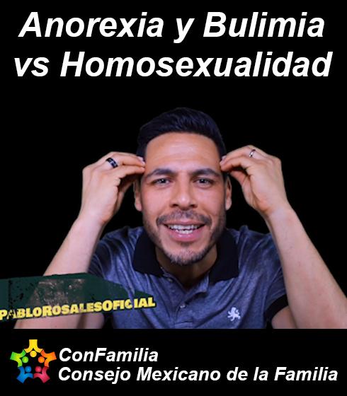 Anorexia y Bulimia vs Homosexualidad