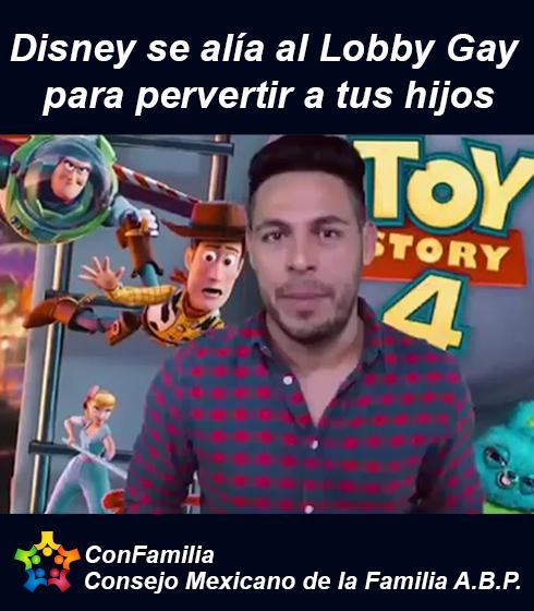 Disney se alía al Lobby Gay para pervertir a tus hijos