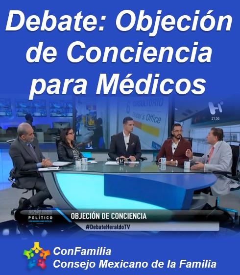 Debate: Objeción  de Conciencia  para Médicos