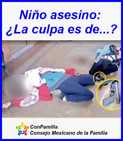 Niño asesino: ¿La culpa es de…?